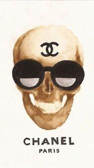 #chanel #skull #sunglasses #SocialblissStyle | Design n ...