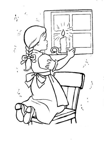 christmas eve  ireland coloring page  printable coloring pages