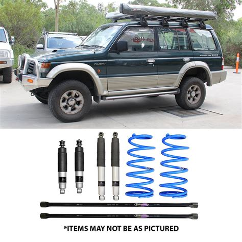 select 4wd ultimate suspension 2 quot lift kit pajero nh nl