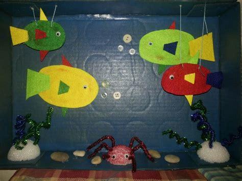 maqueta ecosistema acuatico en mi salon