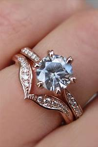 wedding ring sets become more and more popular among With engagement rings and wedding bands that fit together