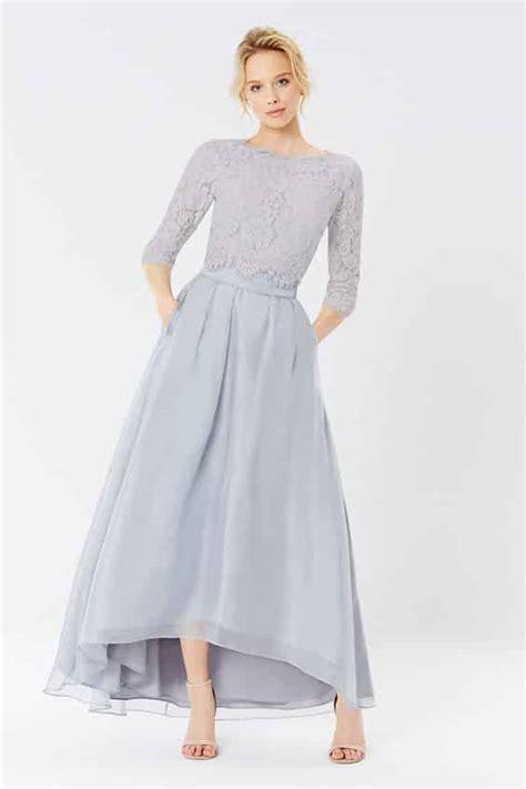model dress brokat modern kombinasi pesta mewah