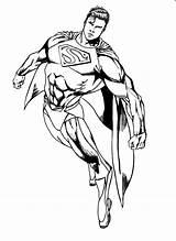 Superman Man Steel Returns Coloring Pages Fan Deviantart Super Print Comics Getcoloringpages Henry Cavill Cartoons 2008 sketch template