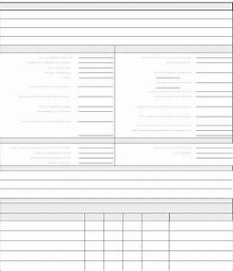 download blank financial statement for free formxls With blank bank statement template download