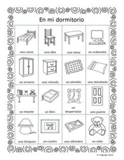 house furniture vocabulary images
