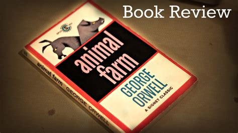 animal farm  george orwell book review youtube