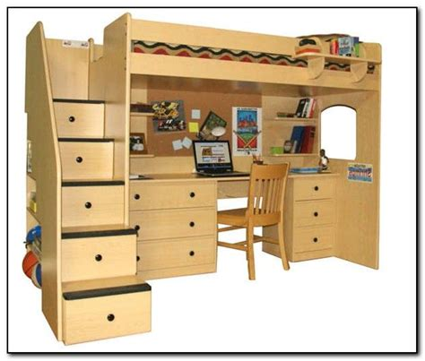 loft bed with desk underneath 1000 images about bunks on pinterest chair bed