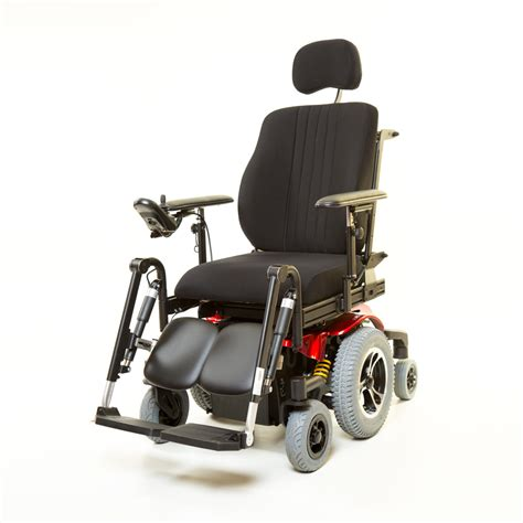 atigra ls power wheelchair mid wheel drive 65mm