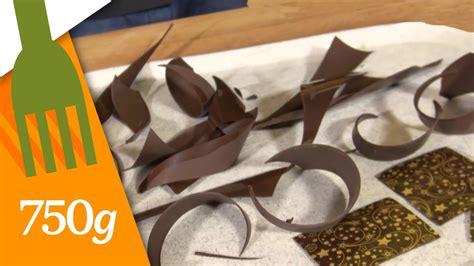 Comment Faire Des Décors En Chocolat ?  750 Grammes Youtube