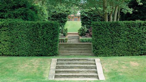Kitchen Herb Garden Ideas - terraced garden steps randle siddeley