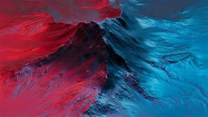 Neon Mountain Background Redmibook 4k Uhd Widescreen