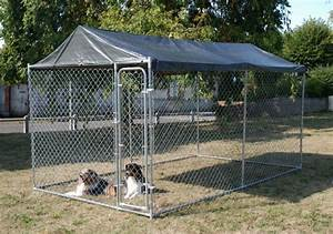 Chenil Extérieur Pour Chien : chenil pour chien pas cher en m tal 39 39 gardenpark 39 39 animaloo ~ Melissatoandfro.com Idées de Décoration