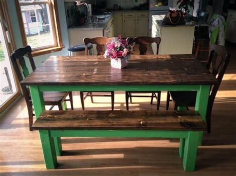 green kitchen table farmhouse style kitchen table with funky green legs this 1443