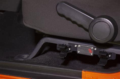 fishbone offroad fb front seat flashlight mount