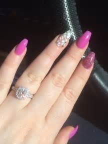 Ballerina Shaped Acrylic Nails