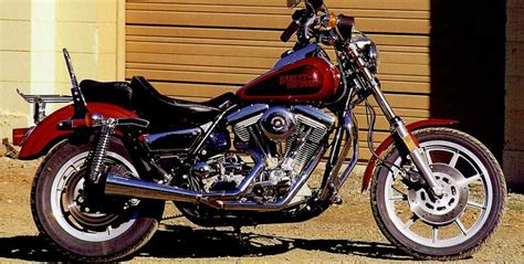 1989 Harley-davidson Fxrs 1340 Low Rider (reduced Effect