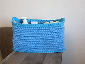 Panier Basket Chambre : rangement de couches panier jouets panier chambre gar on panier en trapilho bleu panier au ~ Teatrodelosmanantiales.com Idées de Décoration