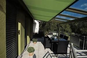 pergola markise exklusive beispiele und hersteller With markise balkon mit glööckler tapete grün