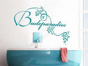 Wandtattoo Bad Günstig : wandtattoo badeparadies mit seesternen ~ Markanthonyermac.com Haus und Dekorationen