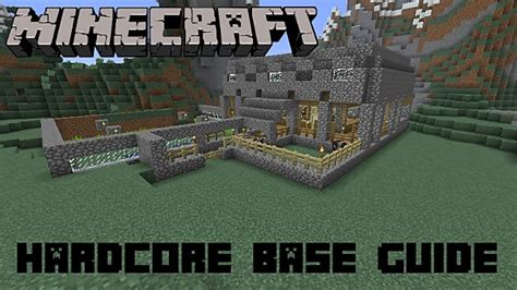 essential base building tips  minecraft hardcore