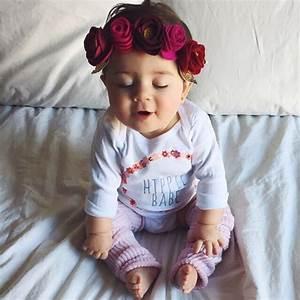 baby, baby girl, beautiful, cute, flowers - image #4628288 ...