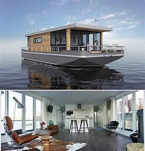 Wohnen Auf Dem Wasser : exklusives wohnen und leben auf dem wasser seetaugliche premium hausboote von cruising home ~ Buech-reservation.com Haus und Dekorationen