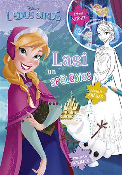 Ledus sirds. Lasi un spēlējies. Disney - Frozen krāsojamā ...
