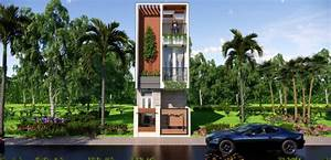 12x30, Feet, Small, House, Design, Master, Bedroom, With, Parking