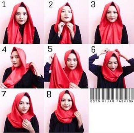 tutorial hijab simpel  trendy  pemula