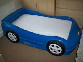 blue tikes toddler car bed for sale