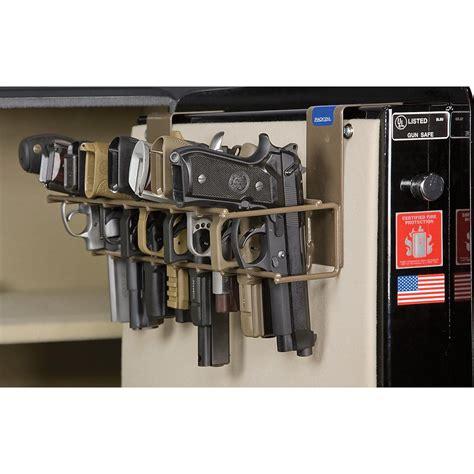 gun safe pistol rack rack em the holster pistol rack 152449 gun cabinets