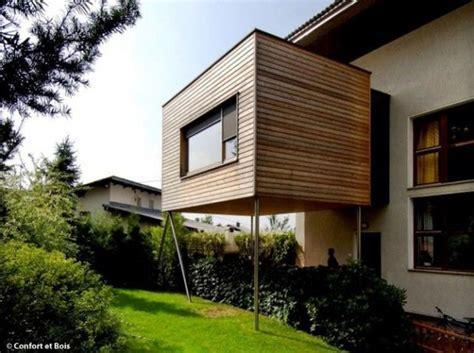 idees dextension en bois pour ma maison archi