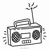Radio Coloring Para Dibujar Animado Colorear Animados Cartoon Pages Cienpies Template Netclipart sketch template