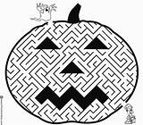 Maze Halloween Coloring Printable Pages Crafts Sheets Activity Activities Labyrinth Fall Pumpkin Books Mazes Colouring Costumes Worksheets Printables Happy Puzzles sketch template