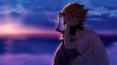 Midoriya Izuku Academia Might Hero Anime Crying