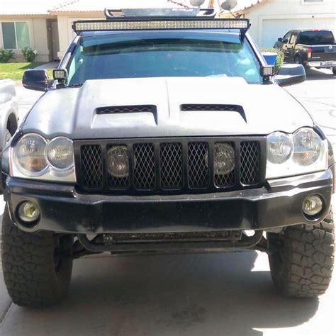 light bar for jeep grand 05 10 jeep grand wk bracket mounts jeepers market