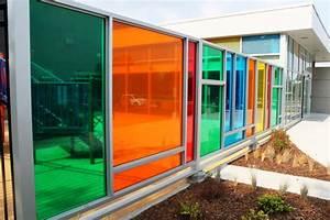 Transparent Coloured Window Film Application