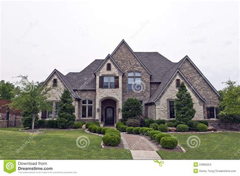rock and homes beautiful two story luxury brick