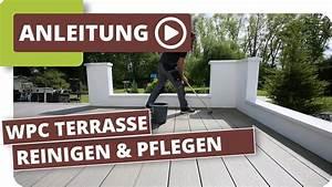Terrassendielen Reinigen Hausmittel : wpc terrassendielen reinigen und pflegen youtube ~ Watch28wear.com Haus und Dekorationen