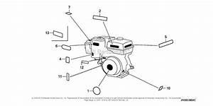 Honda Engines Gx340k1 Vh22  A Engine  Jpn  Vin  Gc05