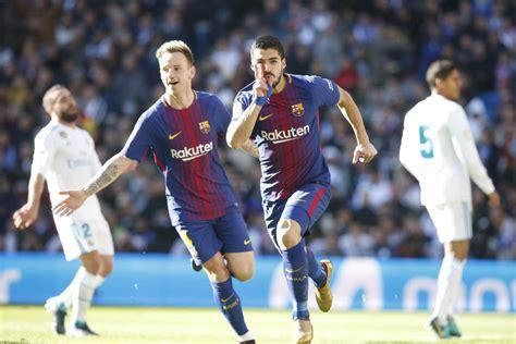 Resultado de Barcelona x Real Madrid - Campeonato Espanhol - 28/10/2018