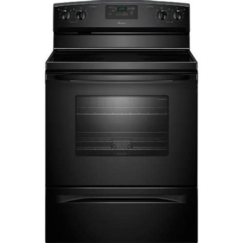 "Amana AER5330BAB 30"" Electric SmoothTop Range, 4.8 Cuft"