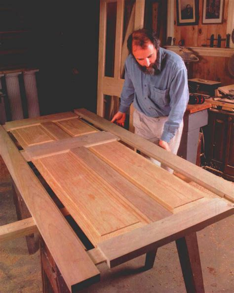 making full sized doors finewoodworking