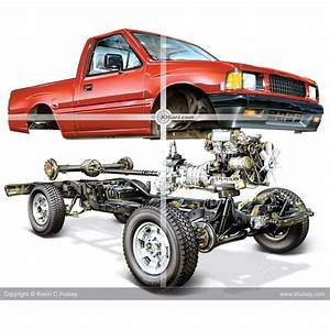 Isuzu 4x4 Truck Exploded View Illustration  How Hard You