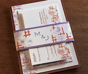 wrap up your invitation with a belly band letterpress With how to make a wedding invitation belly band