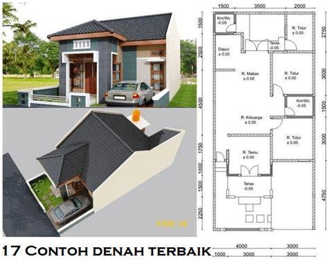 desain rumah  dua kamar tidur