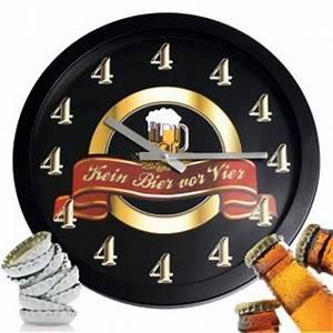 Uhr Kein Bier Vor Vier : kultige wanduhr m nner uhr kein bier vor vier 4 ein mu f r jede bar kneipe pub das ~ Whattoseeinmadrid.com Haus und Dekorationen
