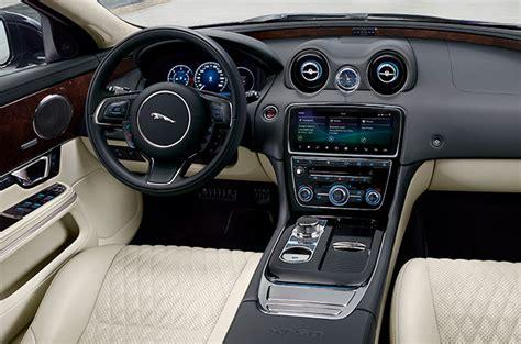 jaguar xj luxury saloon car interior jaguar