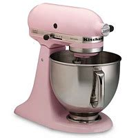 smeg mixer rosa franska liljan