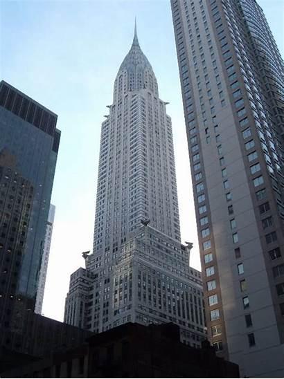 Chrysler Building Manhattan Very York Side East